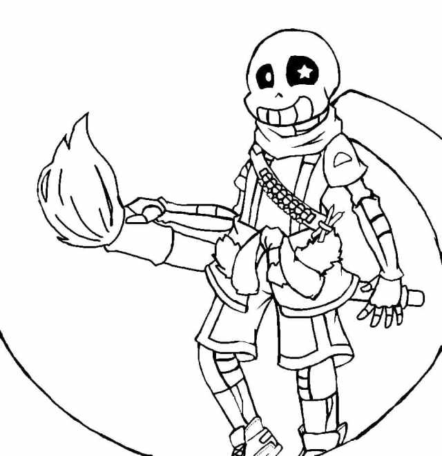 Sans Coloring Pages - 17 Free printable coloring pages