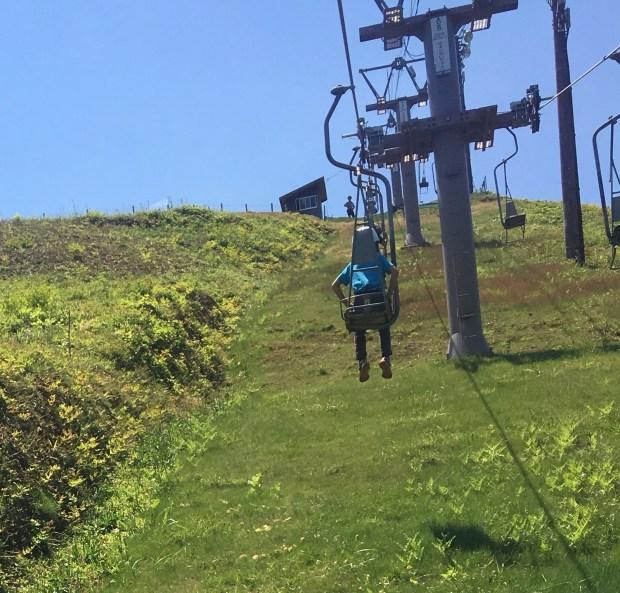 Lift to the top of Kanaya mountain