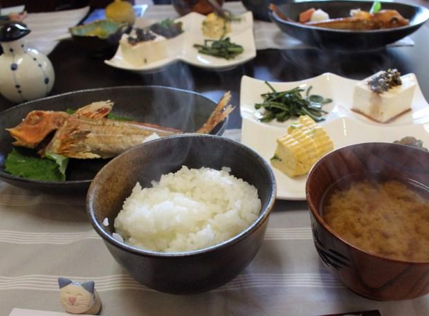 Breakfast at Kukuno