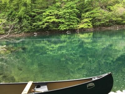 Shikotsu Lake Canoe