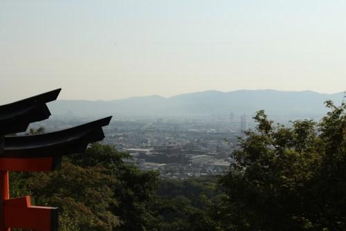 Kyoto city's view