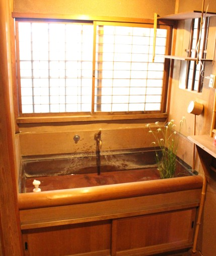 Old type sink at Seikantei
