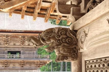 Statue of the Kongobuji Entrance