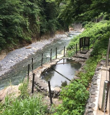 Oyadani hot spring's public bath