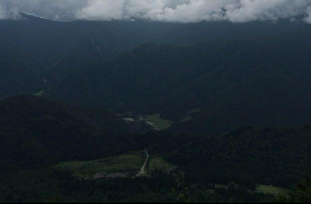 Overlook of Shirakawa-go area