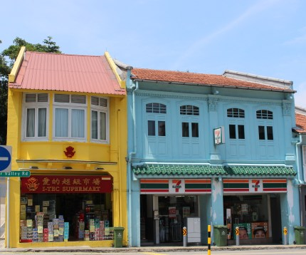 My favorite terraced arcade near Robertson Quay