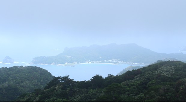 The view from Mt. Chuo