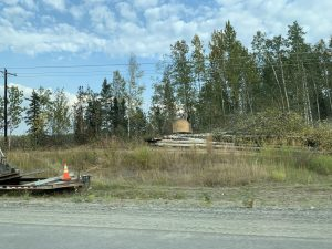 The area north of Anchorage had been suffering from historic forest fires.