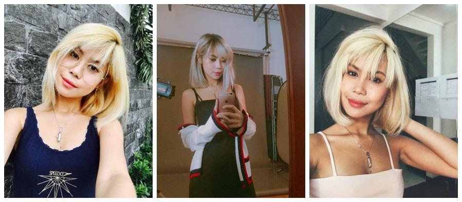 hair bleaching Andrea Beldua 1
