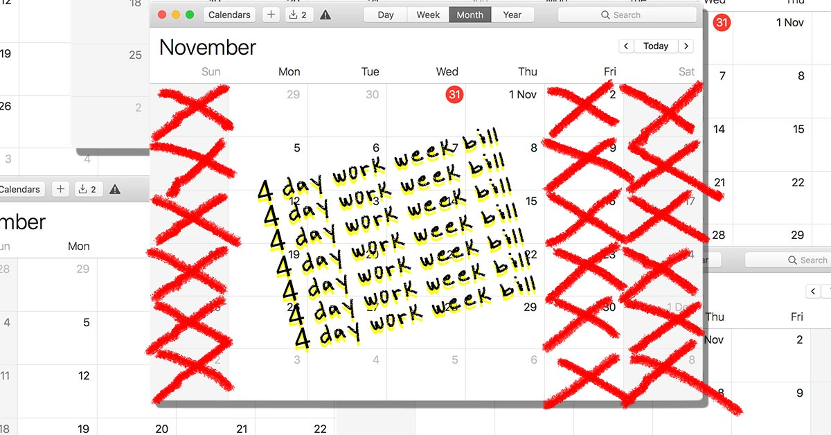 The 4-Day Work Week Bill: What Is It?