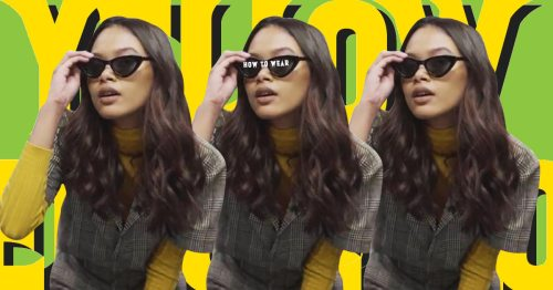How to Wear Yellow in Five Ways