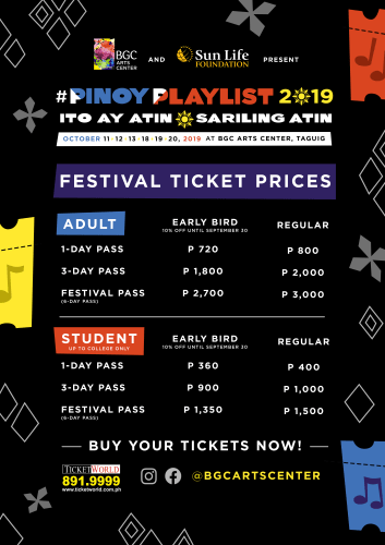 Pinoy Playlist Music Festival - Tickets | Wonder