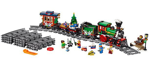 lego winter train toy