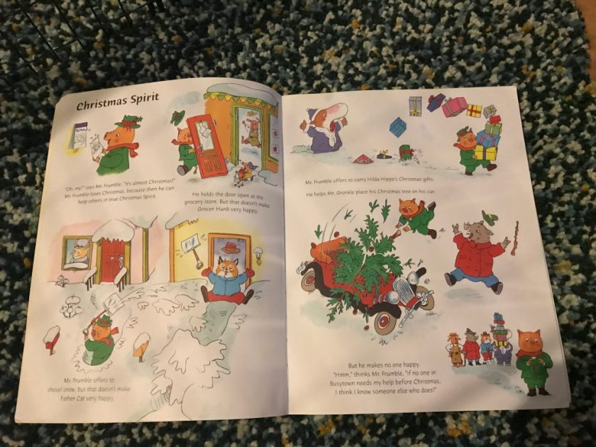 richard scarry the night before christmas