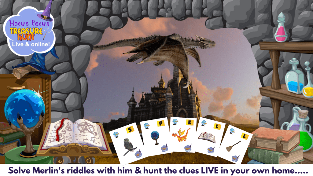 wizard scavenger hunt online fun for kids