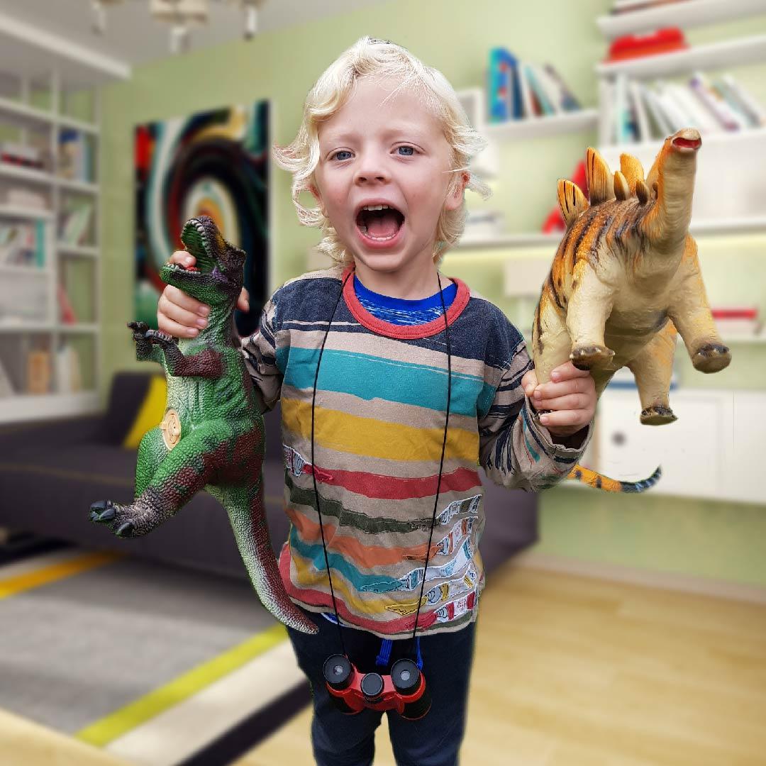 dinosaur kid