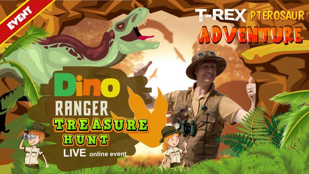 dinosaur online event for kids