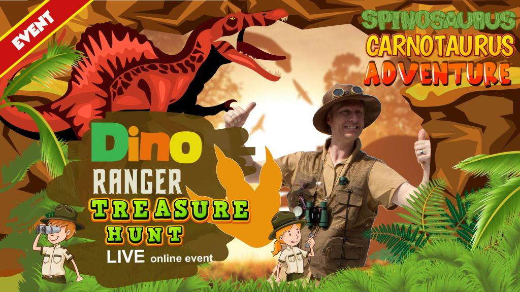 dinosaur summer event for kids