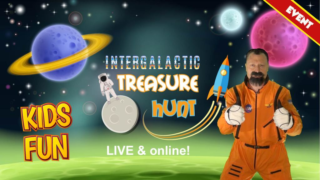 space event online for kids