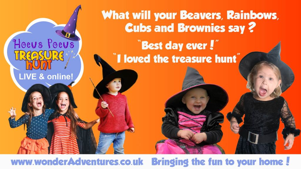 Beavers Brownies Cubs Rainbows Virtual Pack night
