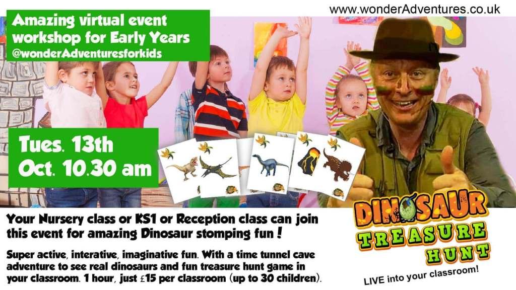 dinosaur workshop for schools