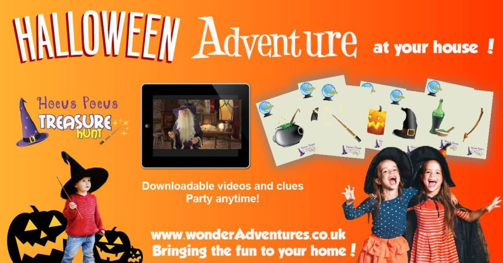 Halloween Treasure Hunt game