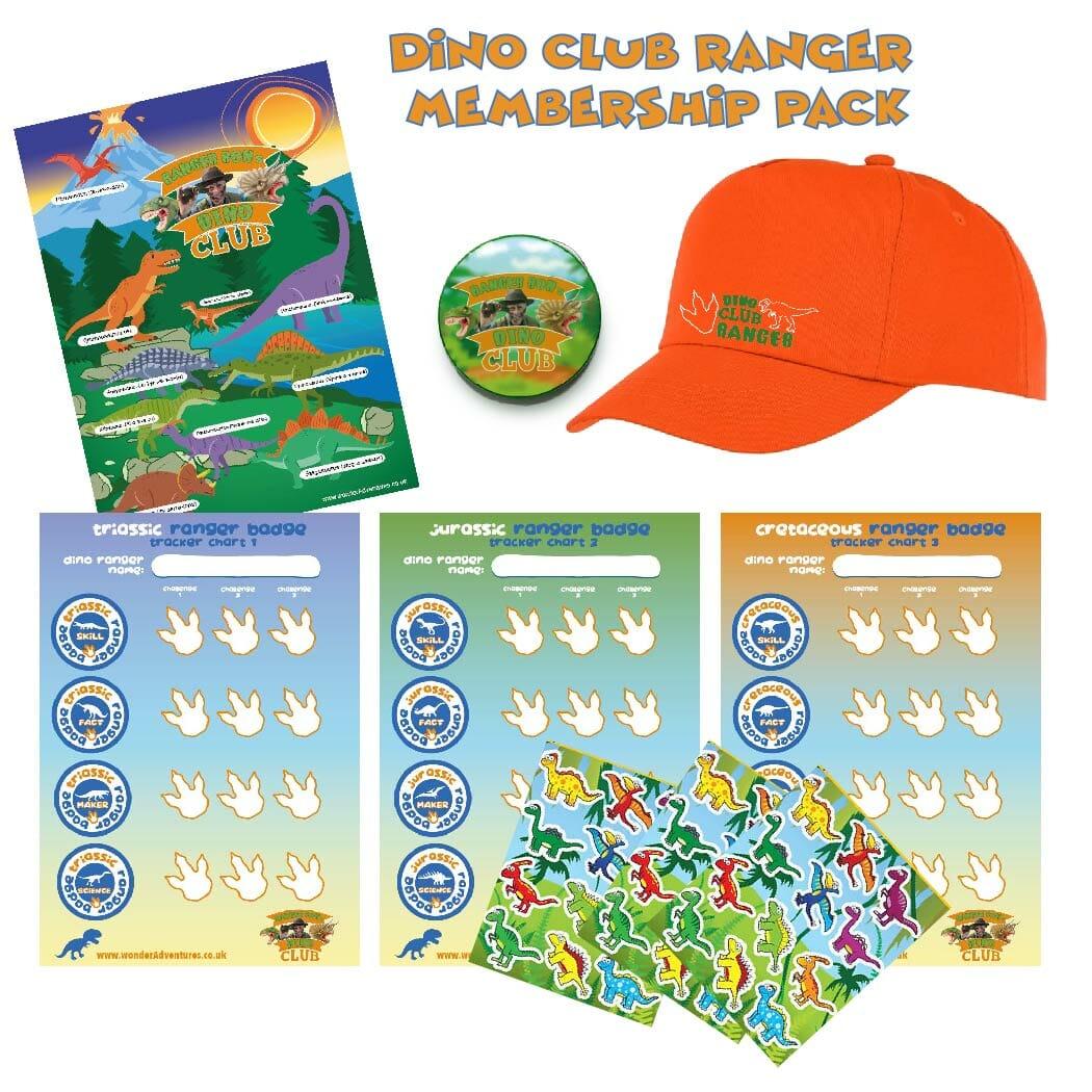 dino club membership pack
