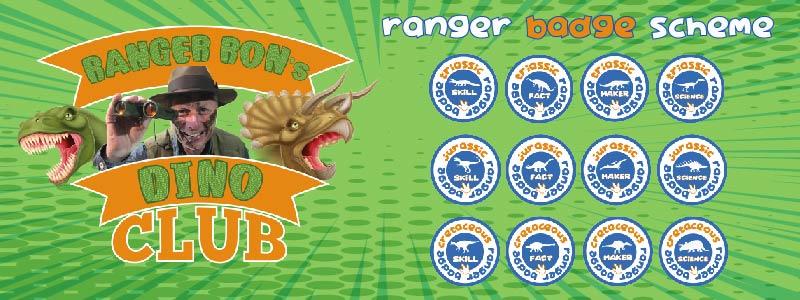 dino club badge scheme