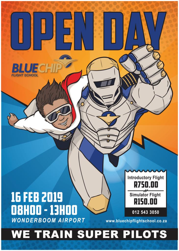 Blue Chip Flight School Open Day