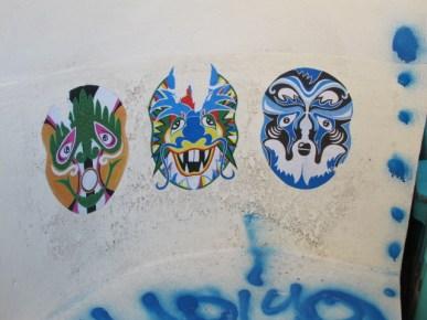 Les masqués