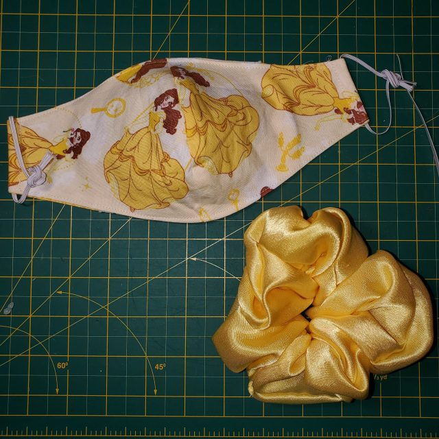 Belle Yellow Satin Combo