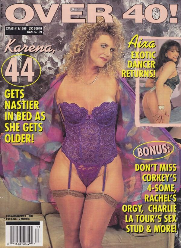 Over 40 13 Xmas 1996 Magazine Back Issue Over 40 WonderClub