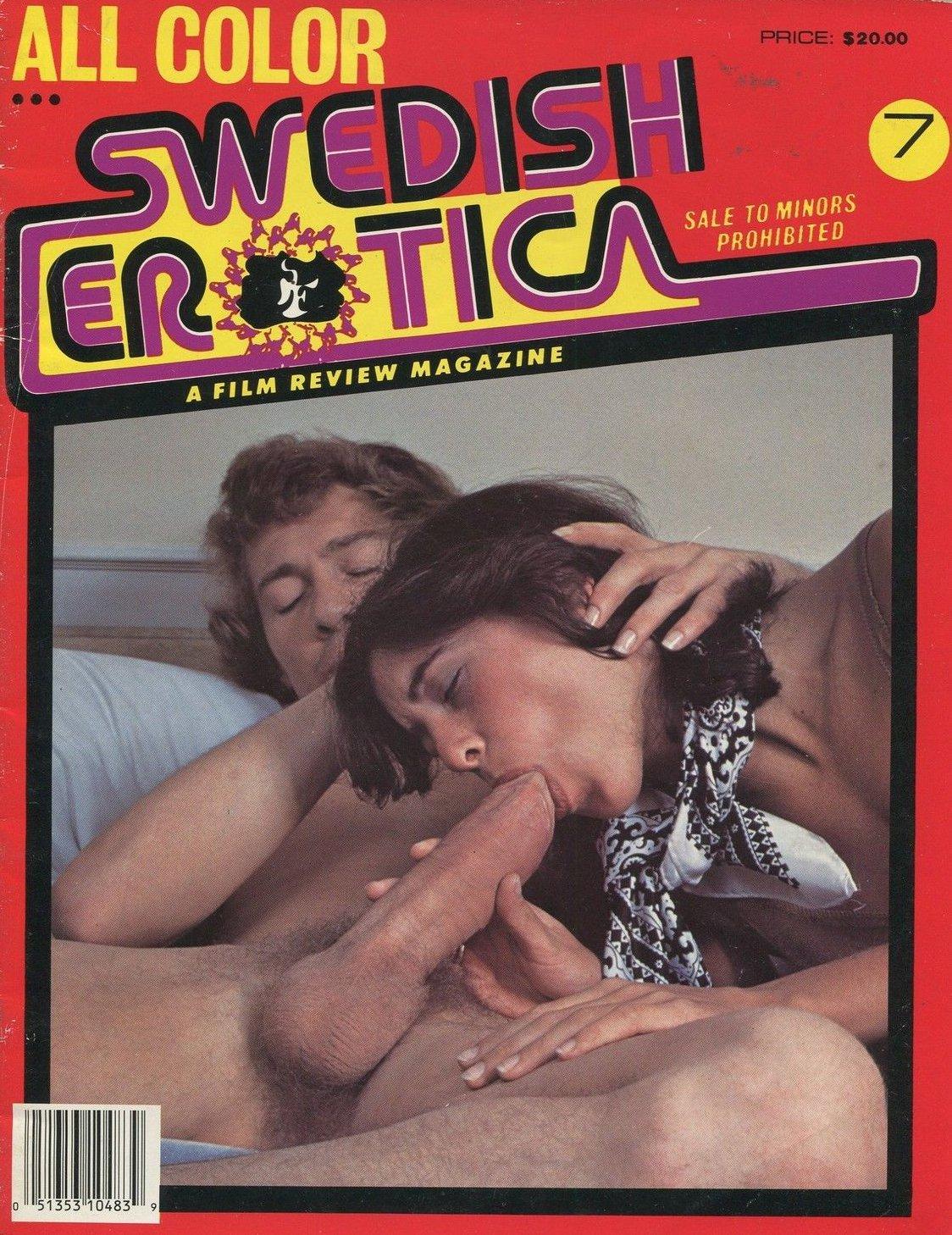 Swedish Erotica 7 Magazine Back Issue Swedish Erotica Magizine Back Copy