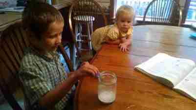 Bigger Hearts science experiment