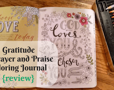 Gratitude: A Prayer and Praise Coloring Journal {review}