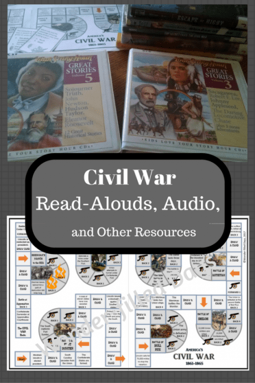 Civil War Books, Audio, Games, and DVDs