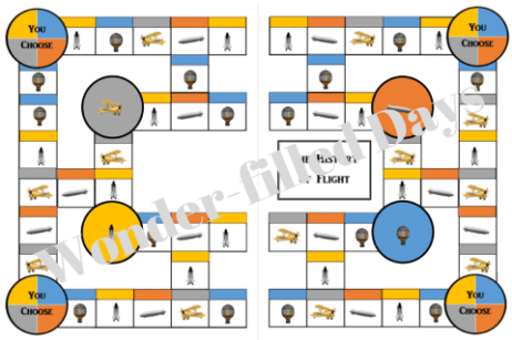 History of Flight Printable Game