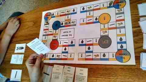 The History of Flight Printable Board Game