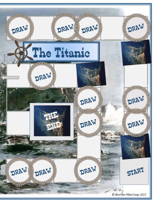 Titanic Board Game