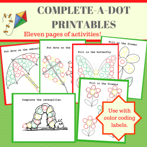 Complete-a-Dot Activity