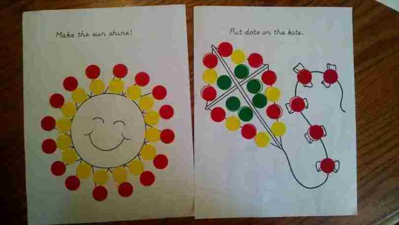 Do a Dot Sticker Printables