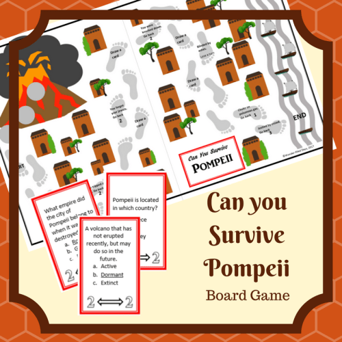 Can You Survive Pompeii Game