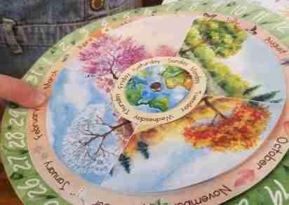 Perpetual Circular Calendar
