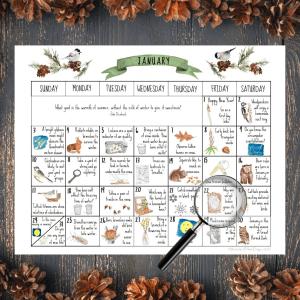 January Nature Calendar