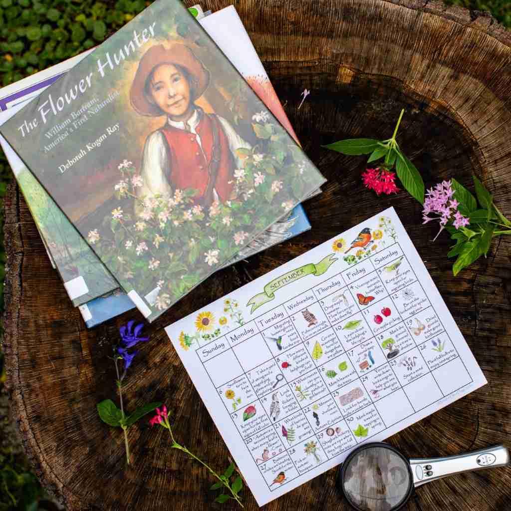 September Nature Calendar & Book Selections