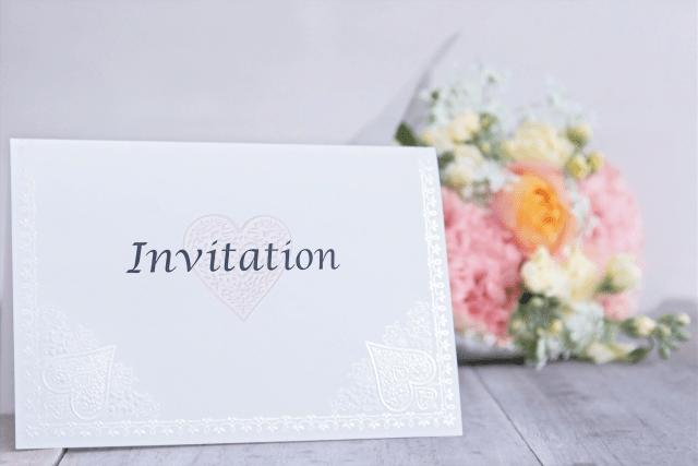 招待状カード