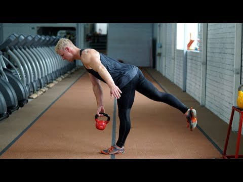 Athlete Workout for Stability and Balance