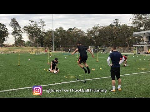 FULL SPEED & AGILITY | 2 coaches | 4 players – Joner 1on1