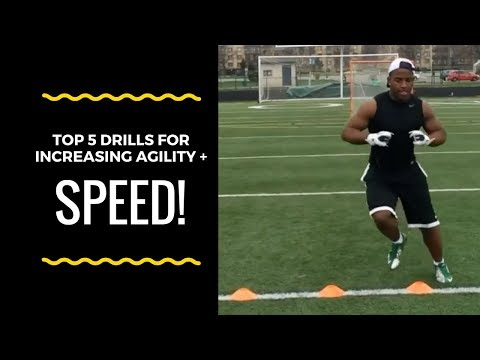 "5 ""Speed and Agility Drills"" Every Athlete Needs To Be The Best Athlete"