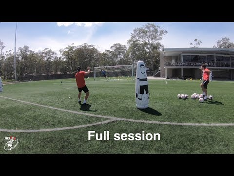 FULL training session | Speed & agility | 1st touch & passing | Shooting | Joner 1on1